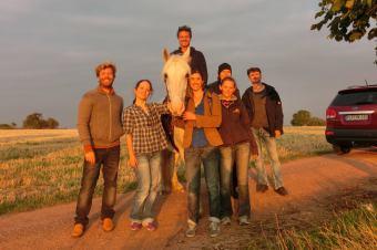 """Rodando """"12 Theses"""" con el director sueco Stefan Asang"""